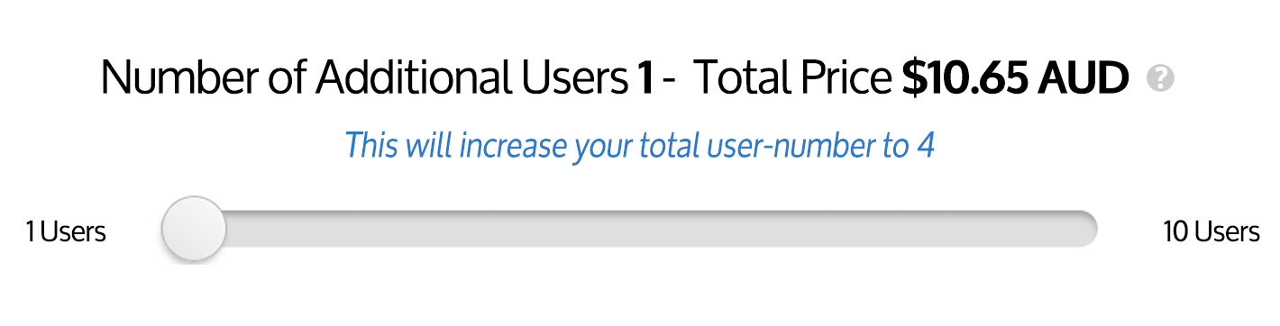 Select your desired user-number