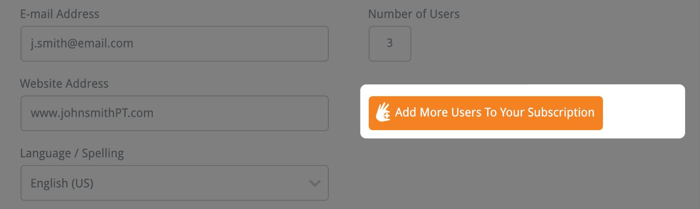 Add More User button
